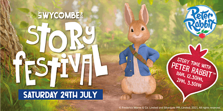 Storytelling Festival w/ Peter Rabbit LIVE SHOWS - High Wycombe Town Centre tickets