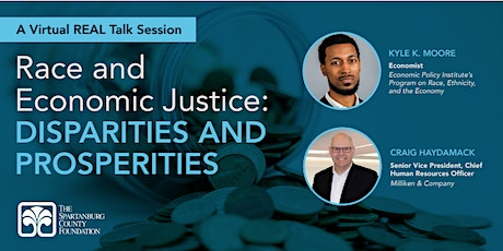 REAL TALK - Race and Economic Justice: Disparities and Prosperities tickets