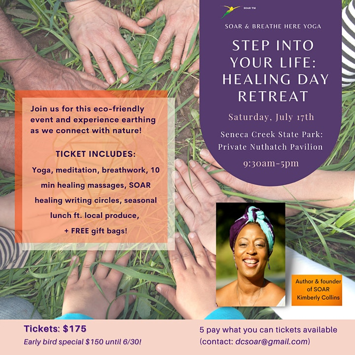 Step Into Your Life - Healing Nature Day Retreat image