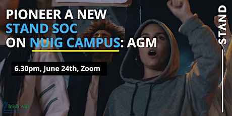 NUIG STAND Society AGM tickets