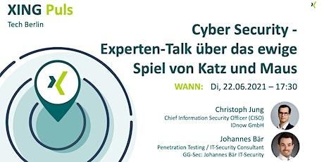 XING Puls TECH Berlin   Cyber-Security - Experten-Talk Tickets