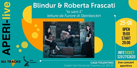 Blindur & Roberta Frascati - AperiLive biglietti