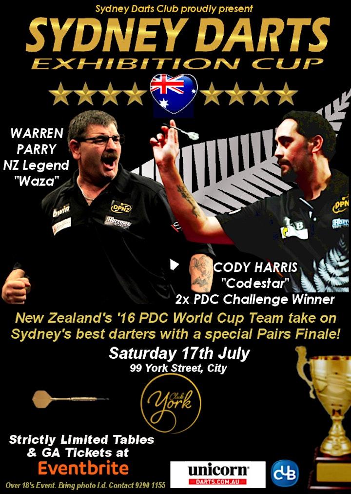 Sydney Darts ANZ International Cup image