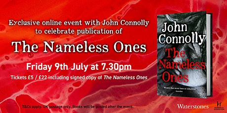 THE NAMELESS ONES: Exclusive online event with John Connolly tickets