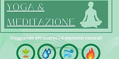 Yoga e Meditazione: viaggiando attraverso i 4 elementi biglietti