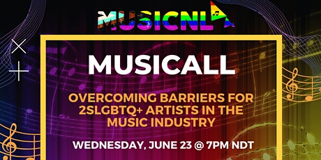 MusicALL  - Overcoming barriers for 2SLGBTQ+ Artists in the Music industry tickets