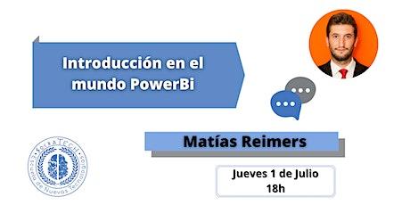 Introducción en el mundo de PowerBI entradas