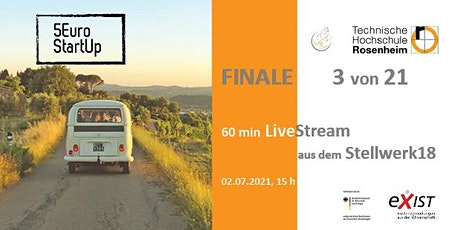 5 Euro StartUp Rosenheim - Finale tickets