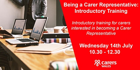 Being a Carer Representative: Introductory Training tickets