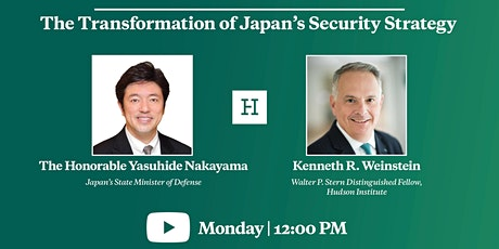 Virtual Event | The Transformation of Japan's Security Strategy tickets