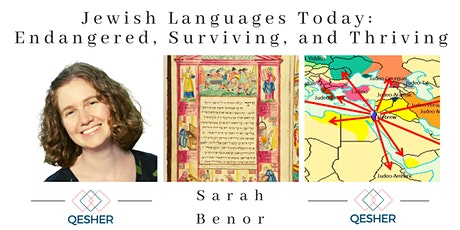 Jewish Languages Today: Endangered, Surviving, and Thriving tickets
