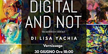 Digital and Not biglietti