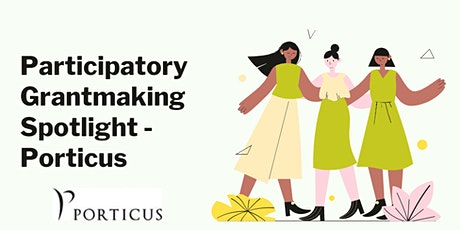Traditional Funders and Participatory Grantmaking tickets