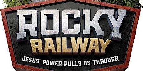 Rocky Railway - Summer Mission tickets