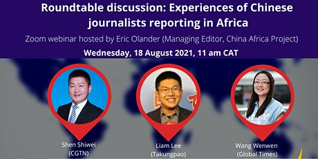 Roundtable: Experiences of Chinese journalists reporting in Africa tickets