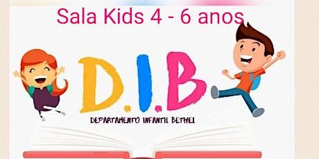 Sala De Aula DIB Bethel,  Das 9horas, De 4-6 Anos tickets