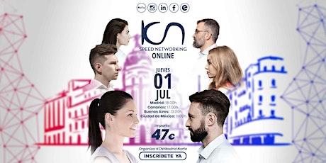 KCN Madrid Norte Speed Networking Online 1 Jul entradas