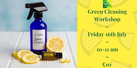 Green Cleaning Workshop tickets