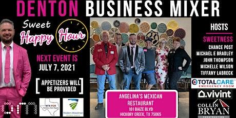 Denton Business Mixer   Sweet Happy Hour tickets