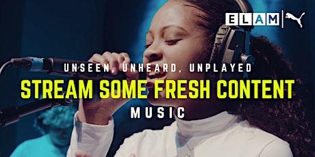 Unseen, Unheard, Unplayed - Music tickets