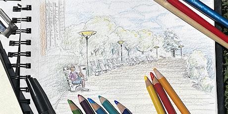Outdoor Art Workshop - Park Plein Air Urban Landscape Sketching tickets
