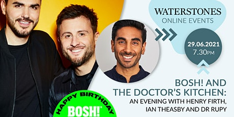 An evening with BOSH! and The Doctor's Kitchen tickets