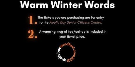 Warm Winter Words tickets