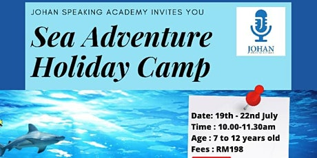 Sea Adventure Online  Holiday Camp by Johan Speaking Academy tickets