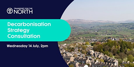 Decarbonisation Strategy Consultation Webinar - North West tickets