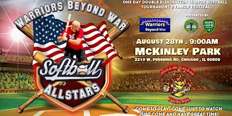 Warriors Beyond War Softball Allstars tickets