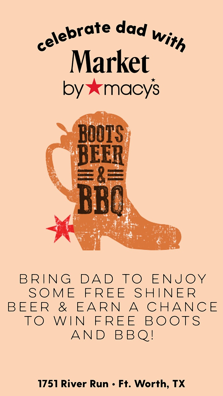 Market by Macy's- Boots, beer, and BBQ image