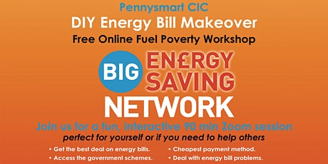 FREE - DIY Energy Bill Makeovers  for Low Income Households tickets