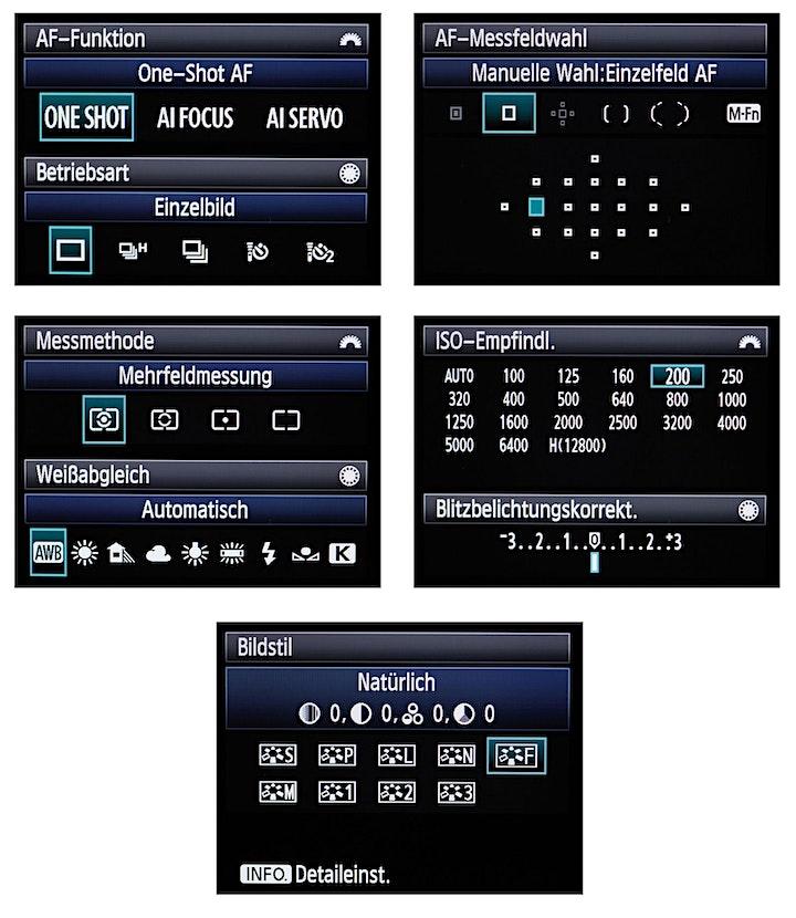 Fotoworkshop: Die digitalen Aufnahmeparameter unter Kontrolle: Bild