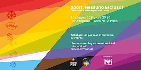 Sport: Nessuno Escluso! biglietti