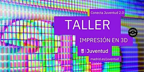 TALLER DE IMPRESIÓN 3D entradas