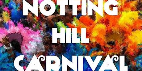 Organising Notting Hill Carnival #CelebratingCaribbeanCulture tickets