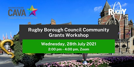 Rugby Borough Council Community Grants Programme Workshop tickets