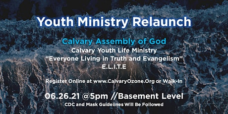 Youth Ministry tickets