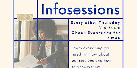 Sheena's Place InfoSessions tickets