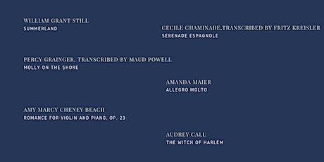 Summer Recital: Claire Allen, violin & Misha Tumanov, piano tickets
