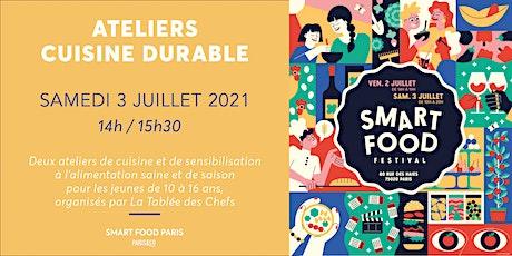 Smart Food Festival | Atelier cuisine avec La Tablée des Chefs billets