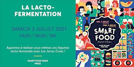 Smart Food Festival | La lacto-fermentation avec Les Jarres Crues billets