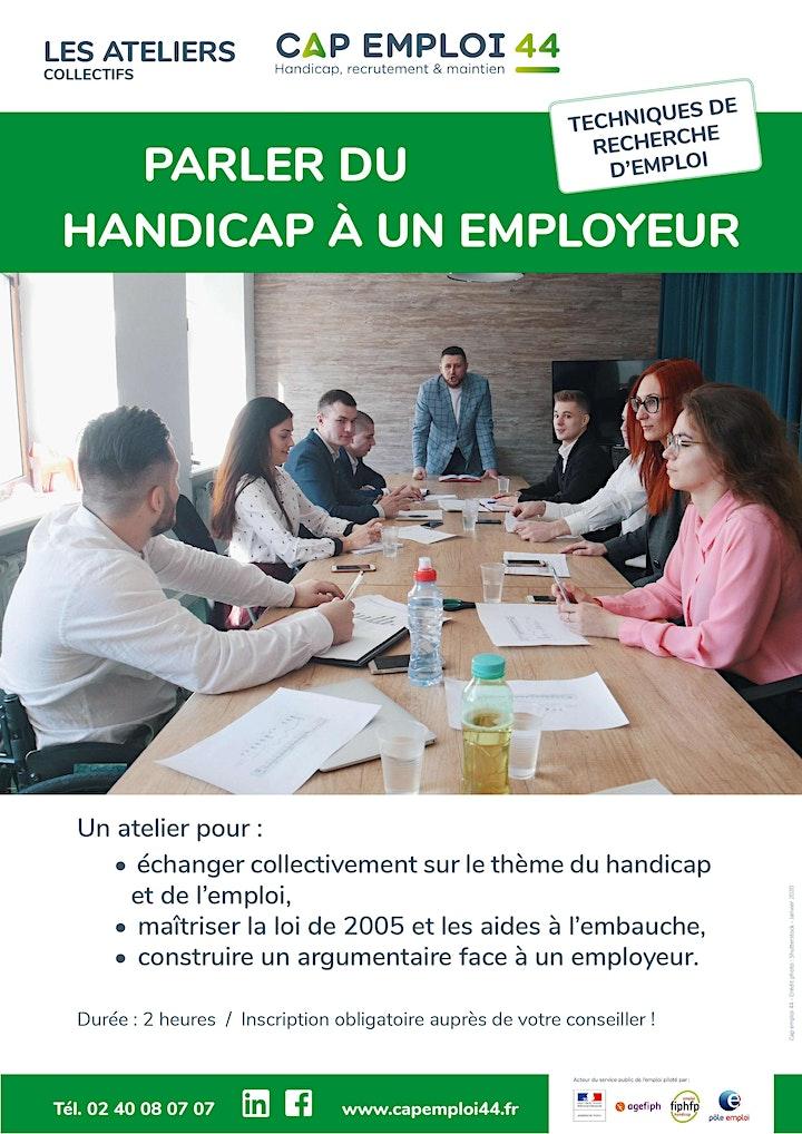 """Image pour ATELIER  « parler du handicap à un employeur »  spéciale """"jeune"""""""