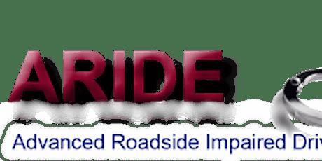 Advanced Roadside Impaired Driving Enforcement (ARIDE), Poteau, OK tickets
