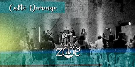 CULTO PRESENCIAL \  DOM 20 JUNHO - 17H30 ingressos