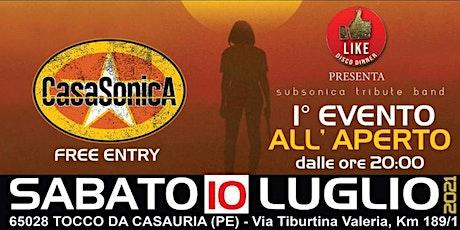 CasaSonica @ Like Disco Dinner biglietti