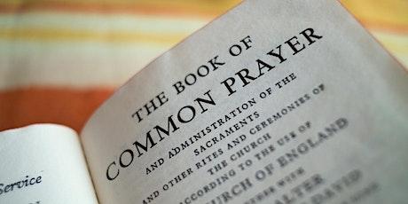 Evening Prayer tickets