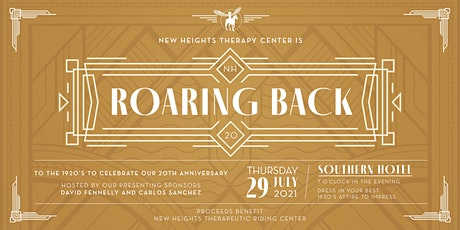 New Heights Therapy Roaring Back to the 1920's Fundraiser tickets