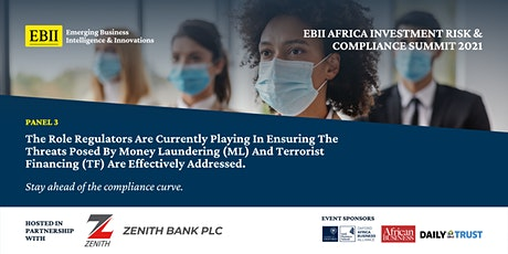 Africa Investment Risk & Compliance Summit 2021 - Panel 3 tickets
