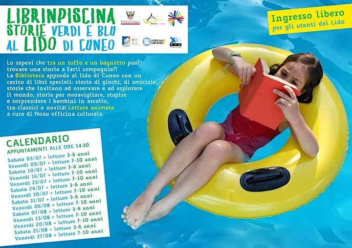 Immagine Librinpiscina: storie verdi e blu > Letture al Lido (INGRESSO LIBERO)